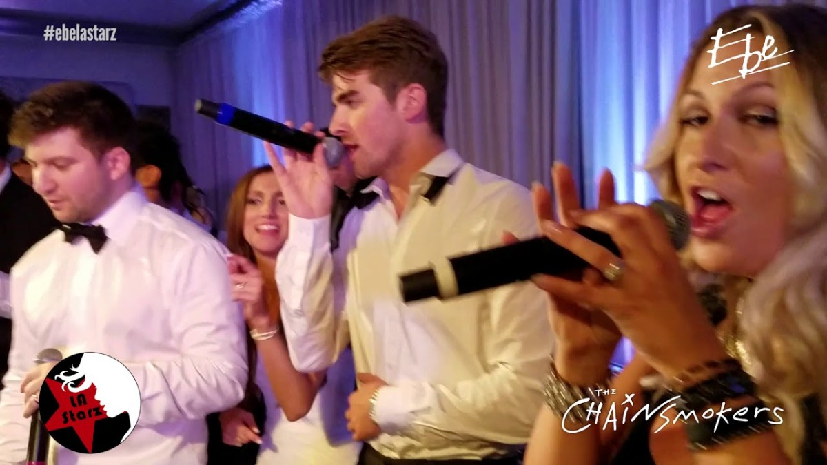 "Watch The Chainsmokers steal a wedding by performing their hit ""Paris"""